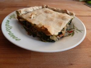 Empanada mit Spinat
